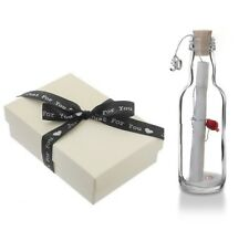 30th Pearl Wedding Anniversary Gift Message In a Bottle Keepsake for Him/Her