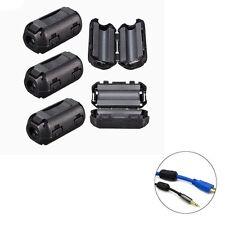X10 (W) Mm Connectors Noise Suppressor Cable Ferrite Core Filters Plastic Clip