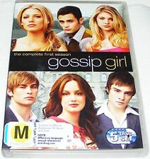 GOSSIP GIRL---Season 1-- (Dvd 5 Disc Set)