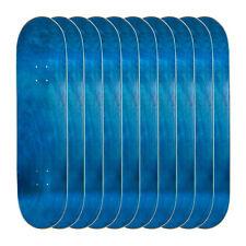 "Lot of 10 Cal 7 Blank Maple 8.25"" Skateboard Deck Multi-Color Bundle Combo Set"