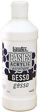Liquitex Basics Gesso Surface Prep Medium 473 Ml