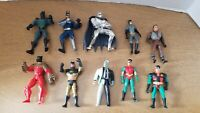 Big Lot of 1990's Kenner DC Comics Batman Action Figures
