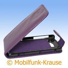 Flip Case Etui Handytasche Tasche Hülle f. Motorola RAZR i XT890 (Violett)