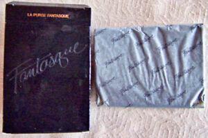 "Vintage 1983 Avon ""LA PURSE FANTASQUE"" Genuine Leather Coin Purse - NEW!"