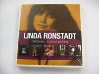 LINDA RONSTADT - ORIGINAL ALBUM SERIES - 5CD BOX SIGILLATO 2012