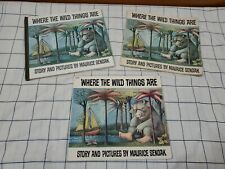 Where The Wild Things Are - Maurice Sendak 1st Edition Early Printing 1963 1969