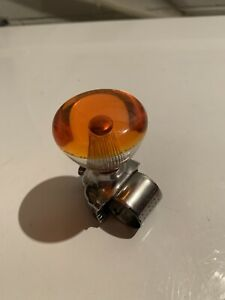 Vintage Orange Casco Steering Wheel Suicide Spinner Knob Hot Rod