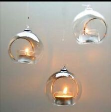 Glass Bauble Candle Holders & Accessories