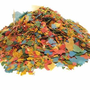 Guppy Flakes, Smaller Premium Flakes   $9.95 12-Type Pellet Blend Included.  AFI