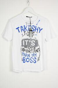 TAKESHY KUROSAWA BOSS Men's X LARGE Printed Casual Thin T-Shirt 13112 mm