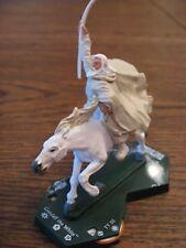 "LOTR TMG Combat Hex TT 055 Gandalf the White Mounted ""RARE"""