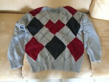 Men's sweater, lambswool, Lord&Taylor, s-z L,Grey color, perfect condition