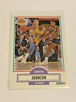 1990-91 Fleer Basketball #93 - Magic Johnson - Los Angeles Lakers
