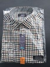 M&S Men's Heritage Shirt 14.5  Pure Cotton Twill Brushed BRAND NEW