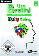 Use Your Brain - Der Zauberwürfel Rubiks Cube Gehirnjogging für Pc Neu/Ovp