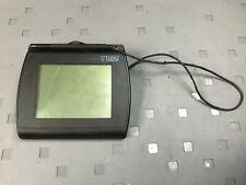 Topaz Systems T-Lbk766Se-Bhsb-R Signature Pad Usb Serial w/ Stylus
