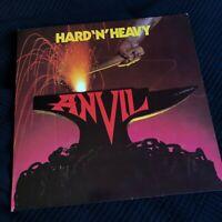 Anvil – Hard 'N' Heavy Canada LP vinyl  NWOBHM 1981 heavy metal LAT 1100