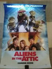 Aliens in the Attic (Ashley Tisdale, Robert Hoffman) 2009 Movie Poster