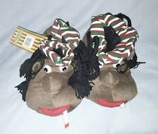 Mens Rasta Character Slippers rasta man u.k. size 10 brand new with the tags