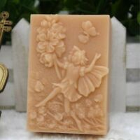 Fairy Mold Silicone Soap Bar Mold Round Handmade Craft Candle Resin Mold
