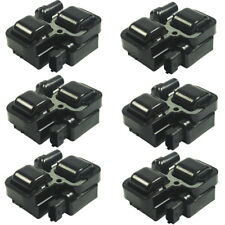 Set Of 6 Ignition Spark Coil Coils UF-359 For Mercedes-Benz C CL CLK ML Class