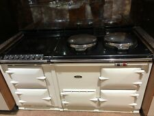 4 Oven AGA  Power Flue Cooker with Electric Module in Cream