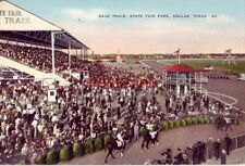 RACE TRACK, STATE FAIR PARK, DALLAS, TEXAS Arlington Downs