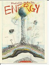 1982 US # 2006-9 Energy Knoxville World's Fair FD Ceremony folder