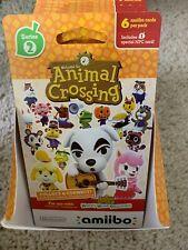 Animal Crossing Amiibo Cards Series 2 Unopened Box 18 Packs w 6 Cards Per Pack