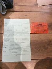 More details for european cup final 1975 leeds united v bayern munich - rare ticket + travel plan