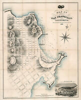 Early Pictorial Map of Maine Boothbay Harbor and Vicinity Wall Art Poster Print