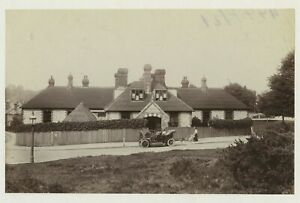 Reigate & Redhill Hospital - Motor Car 1908 Photo By Frith