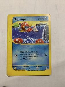 Carte - Magicarpe - 118/165 - Expedition - FR FRENCH - Pokemon - REVERSE