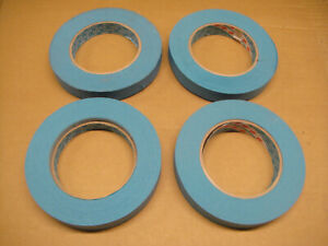 4 x 3M 3434 Scotch Blue 18mm Masking Tape with Manufacturing Defects