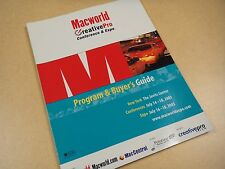 96 pg Brochure - Macworld Expo 2003 - (about the Apple Computer Macintosh)