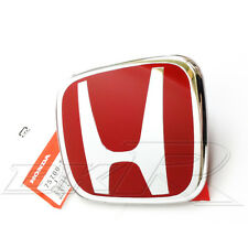 HONDA ACCORD ROSSO H Emblema Badge FRONT GRILL CL7 CL9 euro 02-07