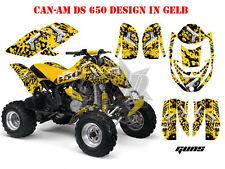 Amr racing DECOR Kit ATV CAN-AM renegade, DS 250, DS 450, DS 650 Guns Glock B