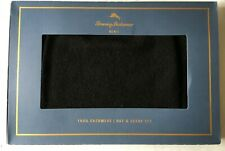 Tomy Bahama Mens Cashmere Hat And Scarf Set Black