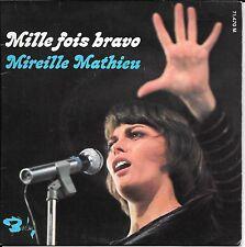 EP 4 TITRES--MIREILLE MATHIEU--MILLE FOIS BRAVO / PRIEZ POUR MOI