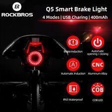 ROCKBROS Luz De La Cola Luz de Freno inteligente sentido Auto inicio & Stop