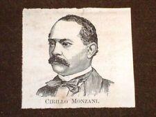Senatore Cirillo Monzani di Reggio Emilia