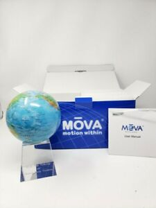 Blue w/Relief Map MOVA Globe 4.5""