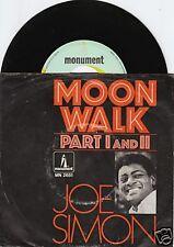 JOE SIMON Moon Walk 45GER/PIC