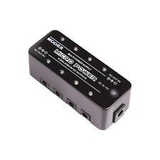 Mooer MMP Micro Power 8 Uscita 9 Volt DC PEDALE Alimentatore + 8 POWER LEAD