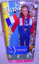 #7950 NRFB Mattel Sydney 2000 Olympic Fan Barbie France
