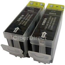 2 Nero CARTUCCE di inchiostro per Canon Pixma IP3500 (PGI-5BK)