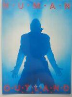 GARY NUMAN outland UK 1991 TOUR PROGRAMME 20 pages