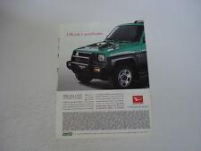 advertising Pubblicità 1992 DAIHATSU FEROZA CITY