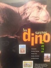 Dinosaurs /Les Dinosaures Postage Stamps Canada New Zealand Australia
