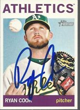 Seattle Mariners RYAN COOK Signed Heritage Card